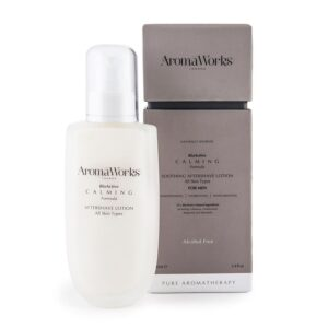 AromaWorks Mens Calming Aftershave Lotion