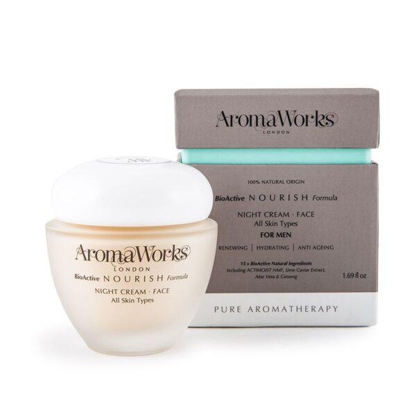 AromaWorks Mens Nourish Night Cream