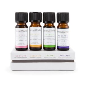 Aromaworks signature essential oil range 4