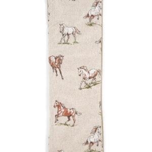 Horses Duo Wheat Bag - Lavender