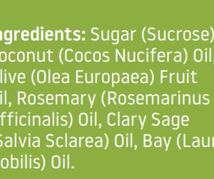 Ruff Stuff Herbal Infusion Daily Scrub Ingredients