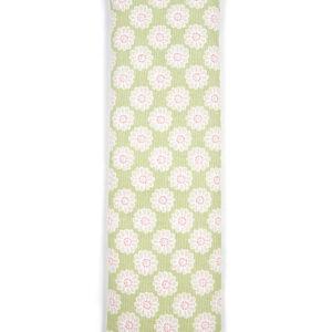 daisy sage green cotton wheat bag