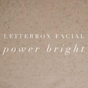 Dermalogica Letter Box Facial Power Bright