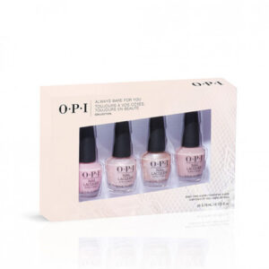 opi always bare for you minis